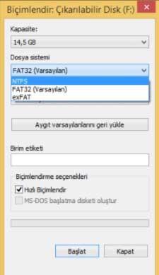 exFat Nedir? Fat32 ve NTFS ile Farkları Neler?