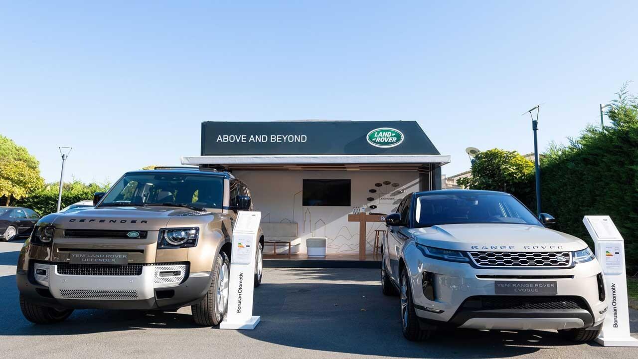 Land Rover Pop-Up Showroom, Ekim Ayında İstanbul'da
