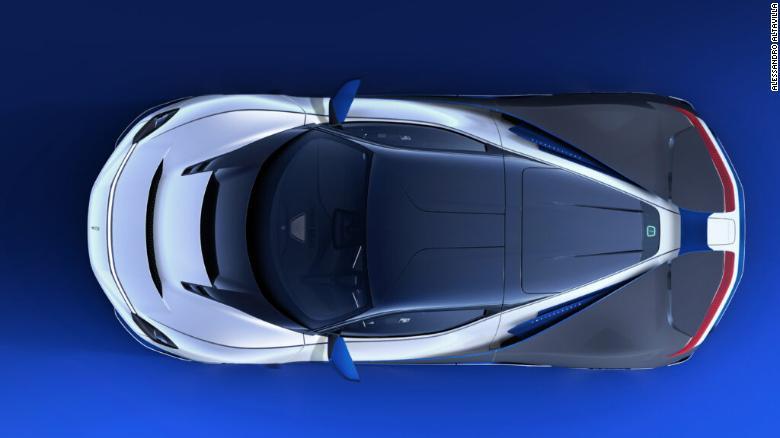 Pininfarina'nın Sadece 5 Adet Üreteceği Yeni Hiper Elektrikli Otomobil