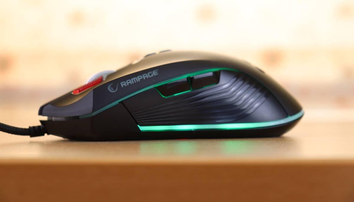 Uygun Fiyatlı Oyuncu Faresi Rampage SMX-R75 STRIKER İnceleme
