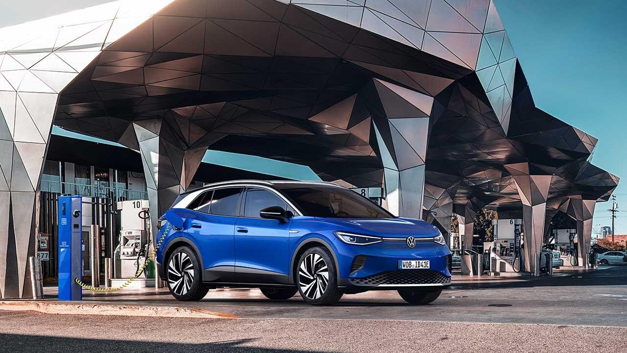 Volkswagen'in İlk Elektrikli SUV'u ID.4 Yollara Çıkıyor